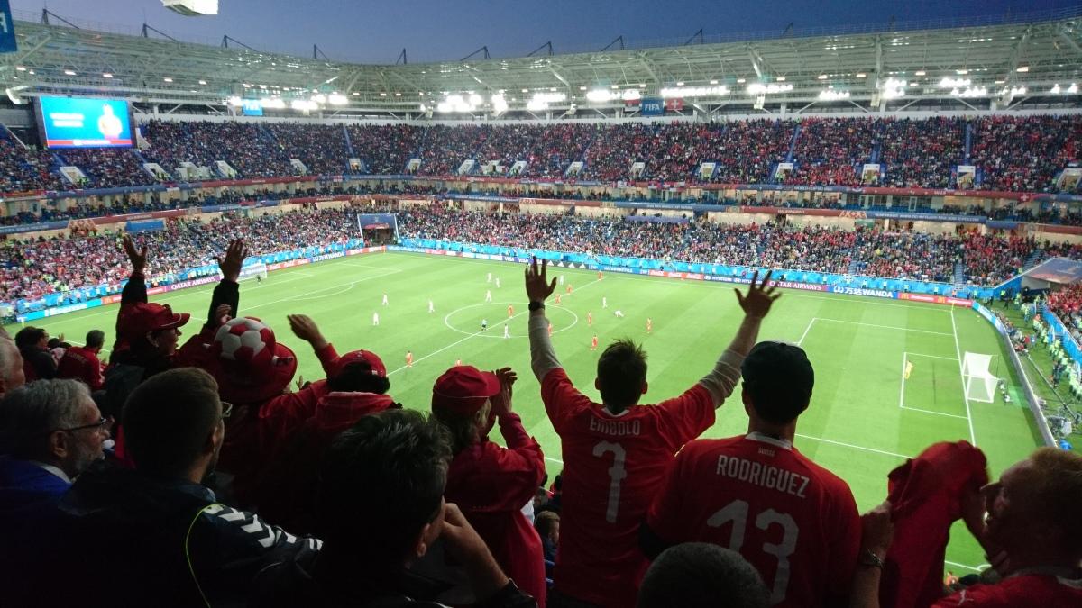 Die Kurische Nehrung und ein WM-Spiel