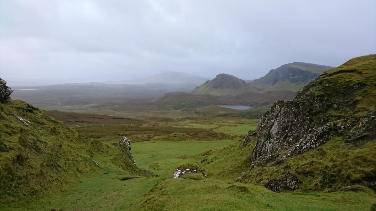 Einmal quer durch Schottland